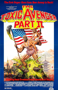 The Toxic Avenger Part II (1989)