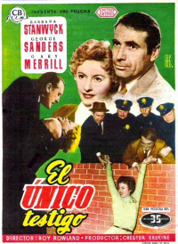 Witness to Murder (1954)