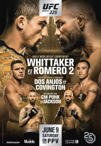 UFC 225: Whittaker vs. Romero 2 (2018)